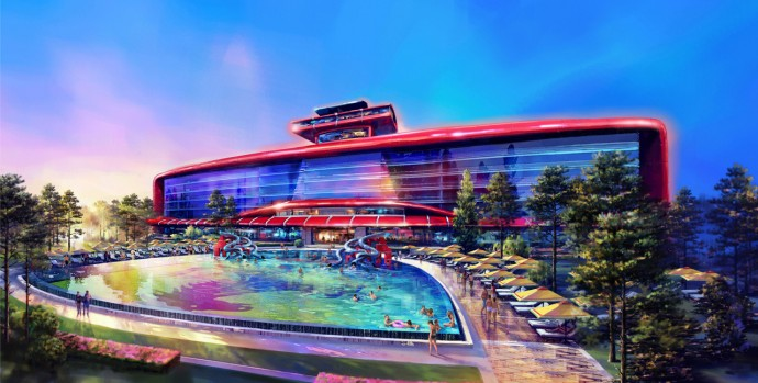 World S First Ferrari Themed Hotel And Theme Park To Open