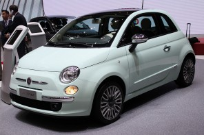 2014 Fiat 500 revealed at Geneva with a range-topping Cult version