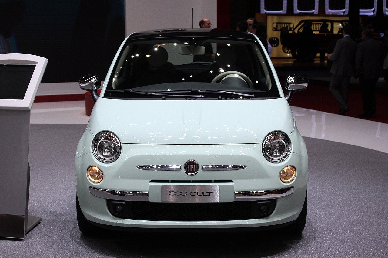 2014 fiat 500 revealed at geneva with a range topping cult version. Black Bedroom Furniture Sets. Home Design Ideas