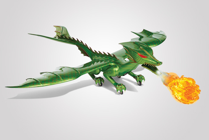 The Ultimate Boy Toy A Remote Controlled Flying Dragon