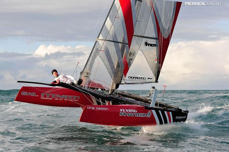 This 40 000 Catamaran For Amateur Sailors Flies Two Feet