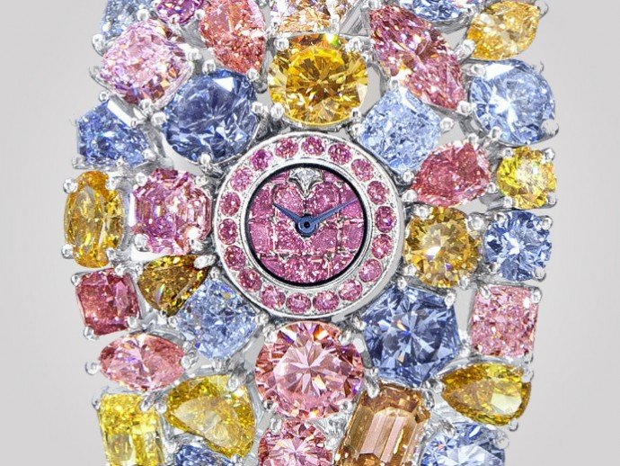 Graff Diamonds 'Hallucination' is the world's most expensive timepiece at $55 million -