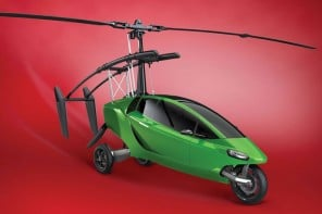 Ditch your Ducati, this $400K road-legal motorcycle transforms into a flying gyrocopter