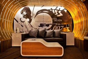 James Bond themed suite at Parisian Hotel offers a luxurious stay for $620