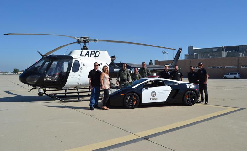 Dubai Police Cars >> The LAPD adds a swanky Lamborghini Gallardo to its patrol ...