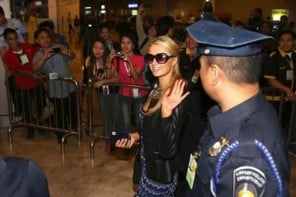 Paris Hilton inaugurates her mammoth dance club in Manila