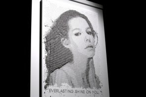 Get immortalized in a million dollar portrait made from thousands of tiny Platinum spheres