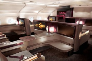Qatar Airways debuts A380 First Class which has a restaurant styled dining for two option