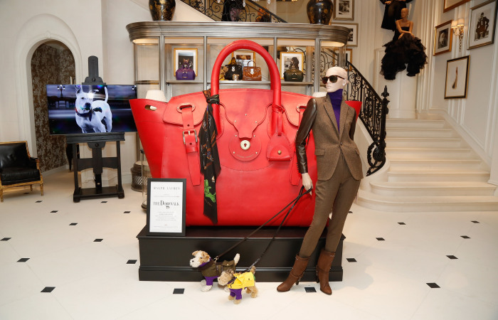 a gigantic ralph lauren ricky bag to pop up at parisian galeries