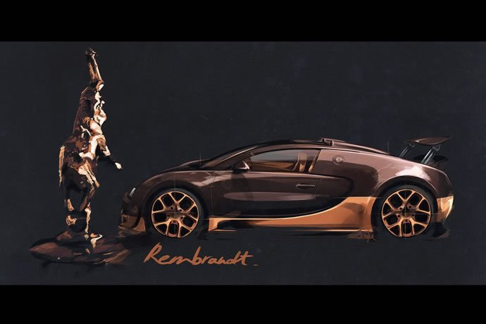 bugatti 39 s fourth legends edition veyron pays tribute to sculptor rembrand. Black Bedroom Furniture Sets. Home Design Ideas