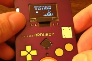 Out now: A $50 battery operated business card that allows you to play Tetris