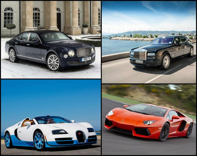 World S Top 5 Luxury Cars With The Worst Gas Mileage