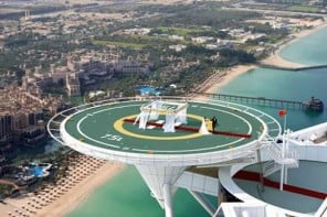 'Say I do' on the helipad of the luxurious Burj Al Arab