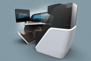 BMW designs the next Business class seat featuring touchpad controls, eye controls, massage system and a lot more
