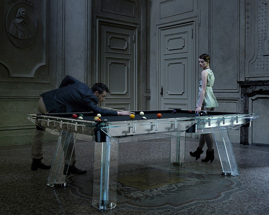 The coolest pool table we have ever seen and its made from - Most expensive pool table ...