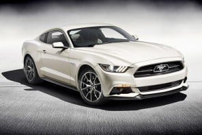 Limited edition 2015 Ford Mustang celebrates the 50th anniversary of the original pony