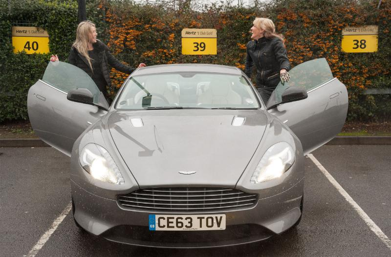 Hertz Exotic Car Rental: Hertz Dream Collection Offers Londoners Aston Martins