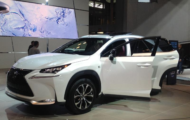 New York International Auto Show Lexus NX