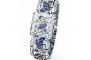 "Patek Philippe Twenty~4 Haute Joaillerie Ref. 4909/110 ""Aquatic Life"" dazzles with 1937 sapphires and diamonds"