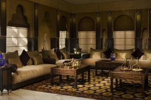 Step inside the luxurious, 21,000 sq.feet gold laced Royal Villa at the Sharq Village and Spa in Doha, Qatar