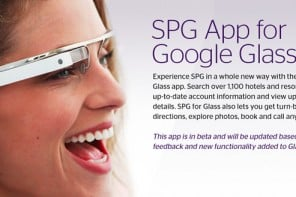 Now you can browse and book Starwood hotels using Google Glass