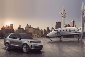 Land Rover teams up with Virgin Galactic as the official road transport partner
