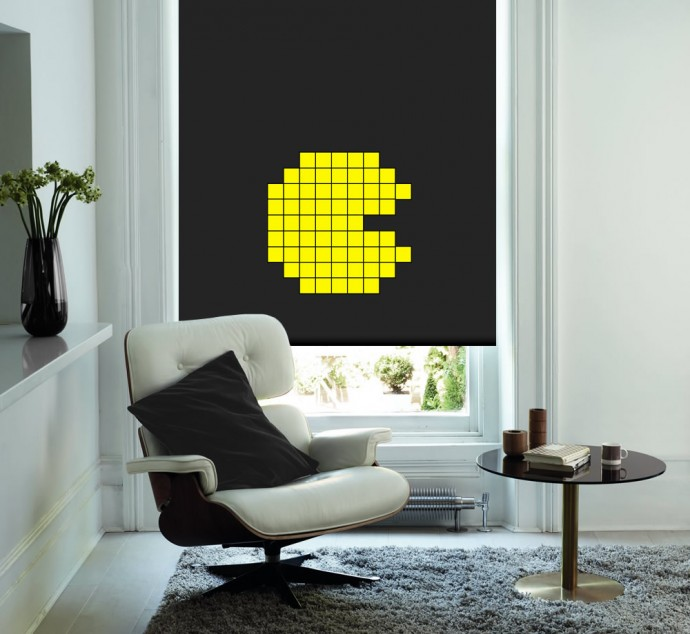 Pac-Man-Roller-Blind
