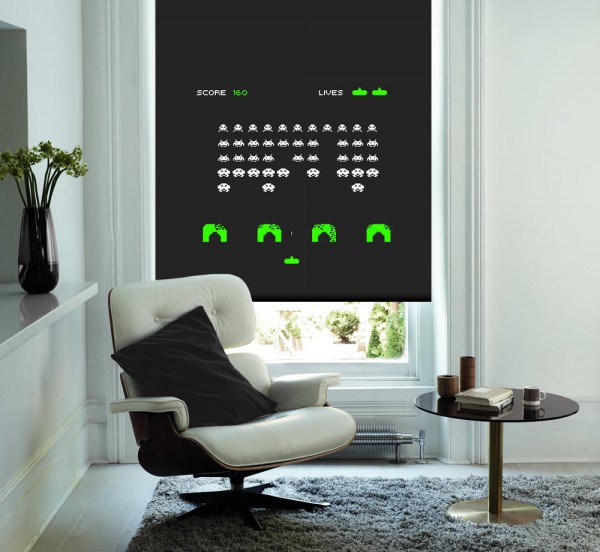 Space-Invaders-Game-Roller-Blind
