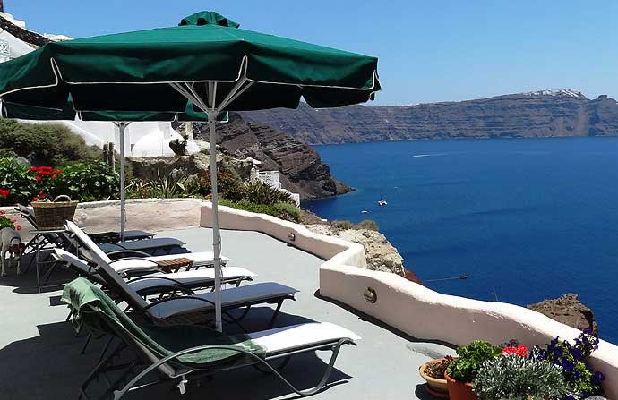 Aris Caves Santorini hotel aris caves, oia, santorini lets you live like the flintstones -