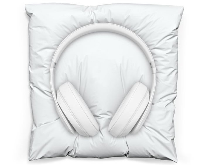 Beats and Snarkitecture collaborate to create limited edition ultra-minimal headphones and pillow -