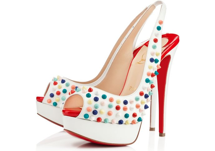 d660b66ac60a Christian Louboutin s vibrant SS 2014 collection -