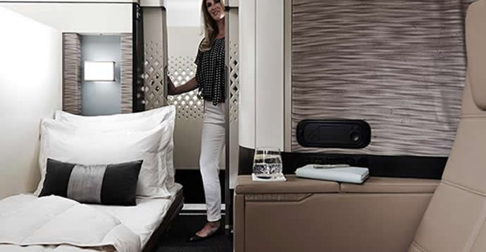 Etihad Airways A380 First Apartments Will Offer