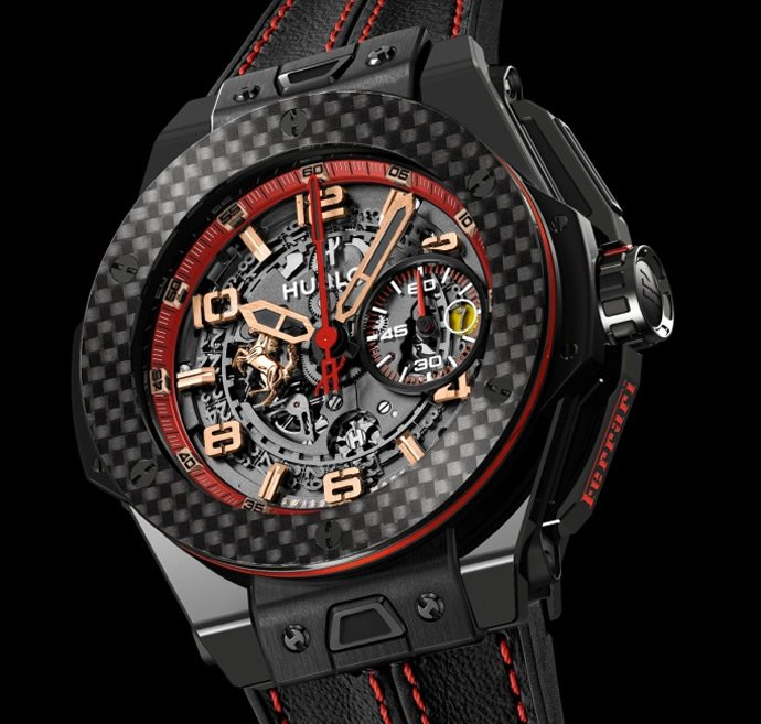 Hublot Big Bang Ferrari Russia Timepiece Celebrates The