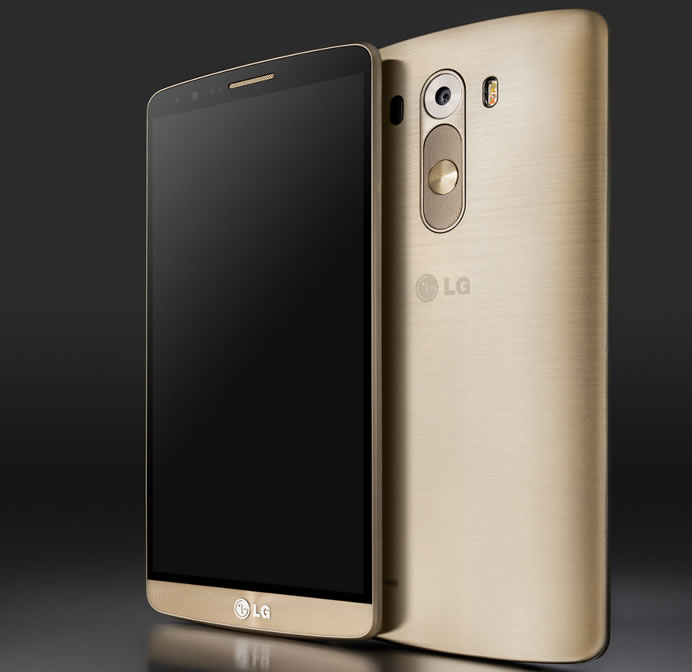 LG G3 smartphone comes with 5.5 inch screen, metallic body ...