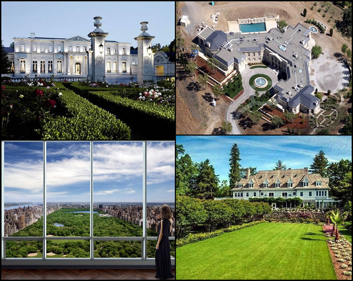 Top 10 most expensive homes sold in america for Most expensive house in us