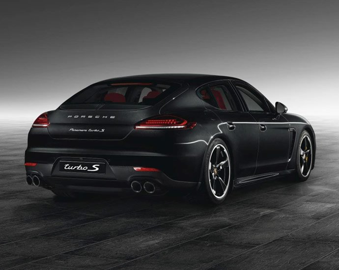 2014 Jet Black Panamera Turbo S By Porsche Exclusive Is A