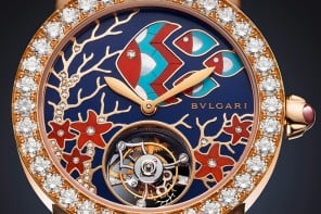 This diamond encrusted Bvlgari Il Giardino Marino timepiece will immerse you in a maritime dream