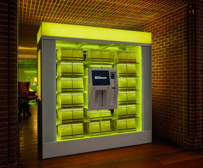 From dispensing gold to caviar here are top 9 luxury vending machines from across the world : Luxurylaunches