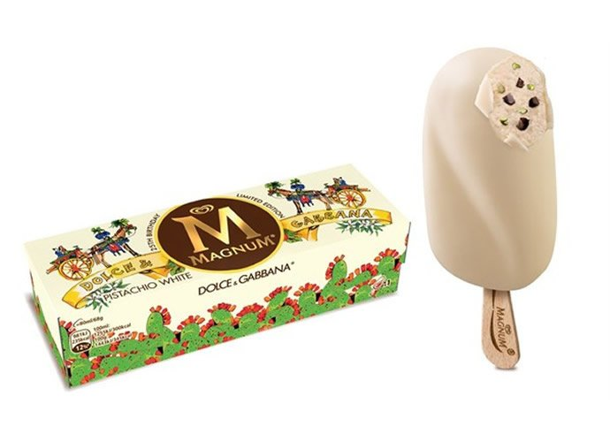 Magnum collaborates with Dolce and Gabbana for a limited edition designer icecream : Luxurylaunches
