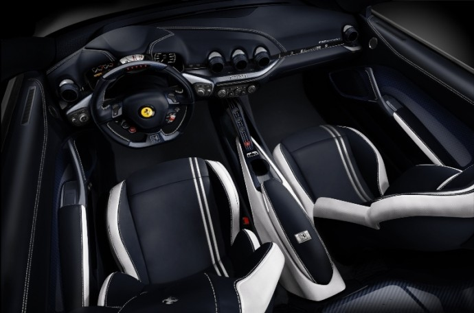 ferrari opens its first tailor made center in china unveils personalized f12 berlinetta and. Black Bedroom Furniture Sets. Home Design Ideas