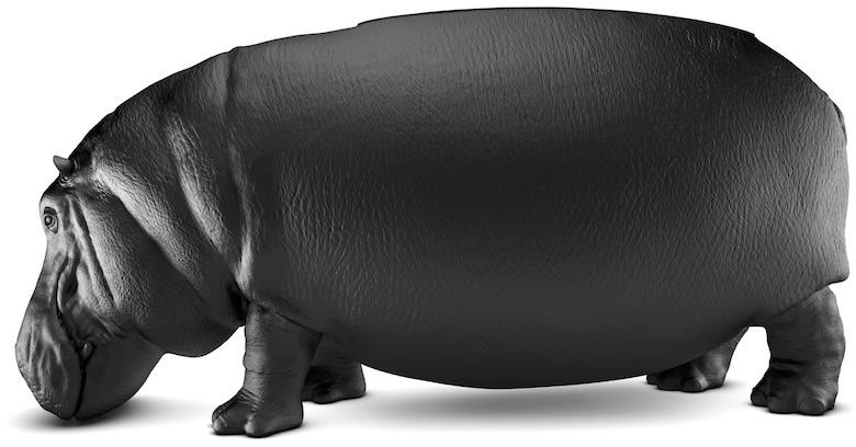 Maximo Riera S Hippopotamus Sofa Brings The Power And