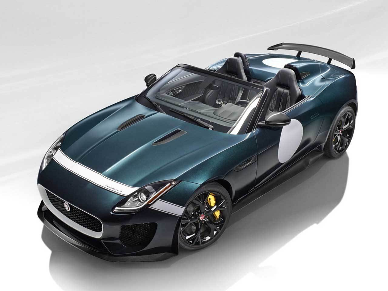 jaguar f type project 7 set for limited production with 567bhp it will be the quickest jaguar. Black Bedroom Furniture Sets. Home Design Ideas