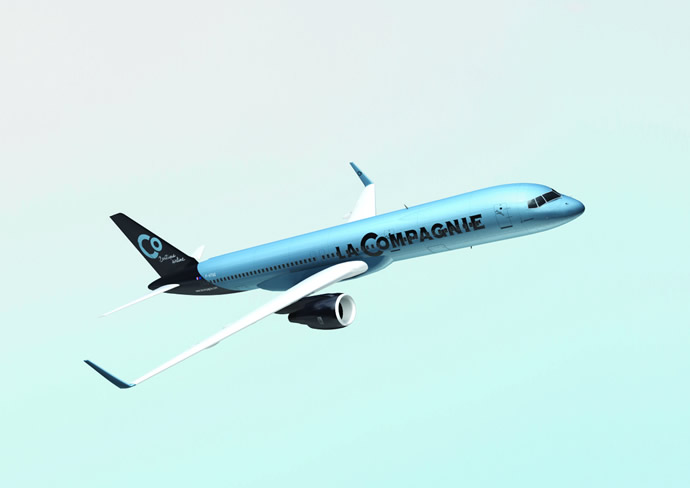 La compagnie an all business class boutique airline to for Flights from paris to new york