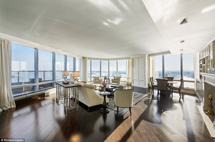 Inside the $118.5 million, two-story property also the ...