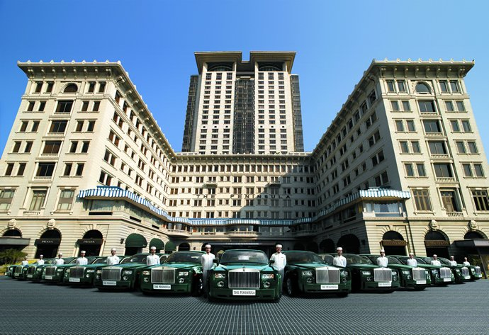 Way Back In 2017 The Peninsula Hotels Were Already Offering Sky High Champagne Breakfasts Replete With Helicopter Trips And Tuk Tuks As Royal Rides At
