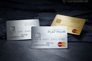 Exclusivity you can buy – Prepaid Mastercards made from precious metals