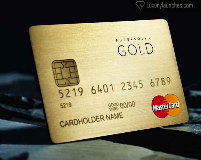 pure solid mastercard gold - Buy Prepaid Card