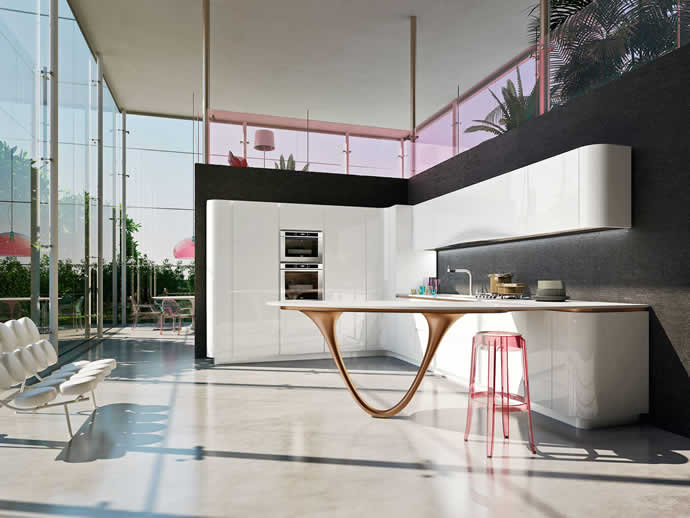 Pininfarina and Snaidero OLA 25 Ferrari Kitchen, lets you ...