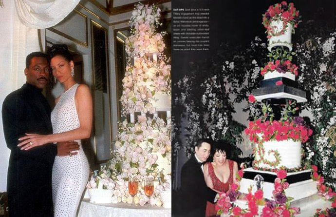 Top 9 Most Expensive Celebrity Wedding Cakes