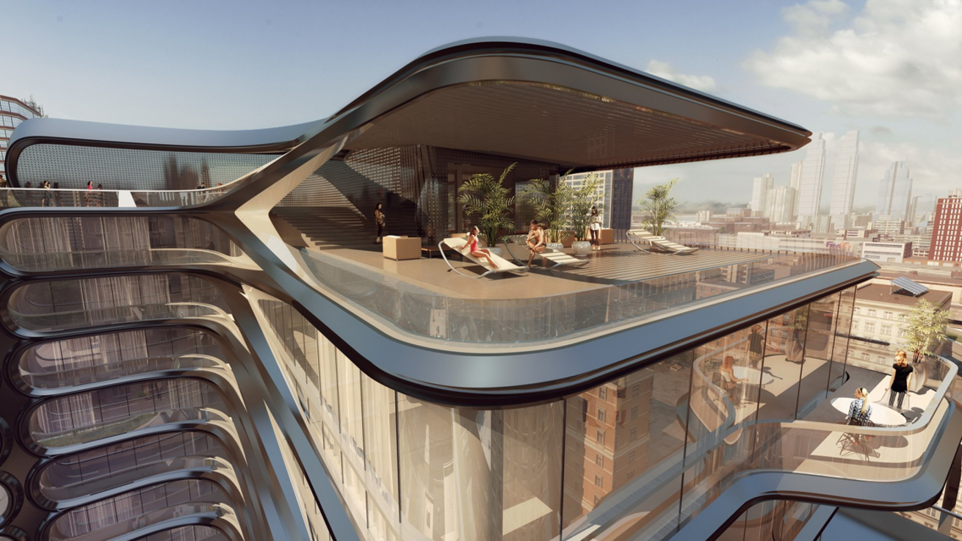 The 35 million zaha hadid penthouse is for the don for Zaha hadid new york apartment